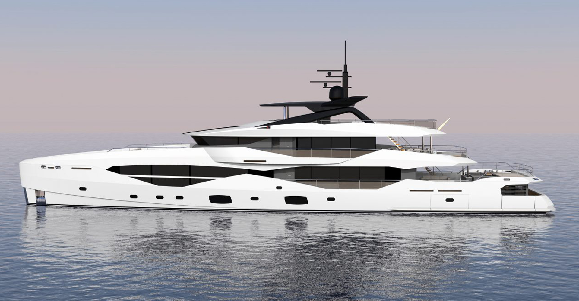 New Sunseeker 161 superyacht - Design Unlimited
